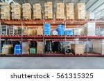 warehouse industrial and... | Shutterstock . vector #561315325