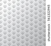 handshake. heart symbol. pattern | Shutterstock .eps vector #561322945