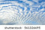 Panoramic Of Blue Sky Clouds