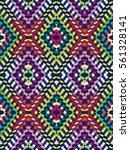 vector seamless pattern ... | Shutterstock .eps vector #561328141