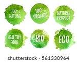 Vector Natural  Organic Food ...