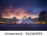 paris  france   december 9 ... | Shutterstock . vector #561360055