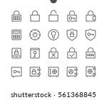 keys and locks outlined pixel...