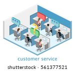 isometric flat 3d isolated... | Shutterstock .eps vector #561377521