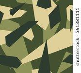 seamless vector camouflage... | Shutterstock .eps vector #561381115