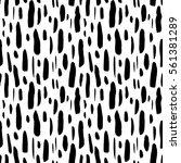 seamless pattern brush stroke.... | Shutterstock .eps vector #561381289