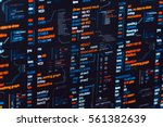 assembler abstract program... | Shutterstock . vector #561382639