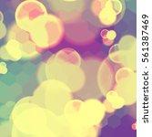 festive background with de... | Shutterstock .eps vector #561387469