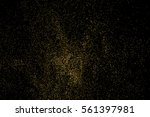 gold glitter texture isolated... | Shutterstock .eps vector #561397981