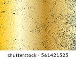 gold grunge background texture... | Shutterstock .eps vector #561421525
