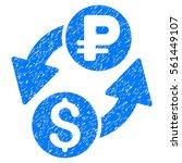 dollar rouble exchange grainy... | Shutterstock .eps vector #561449107
