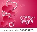 vector illustration of women's...   Shutterstock .eps vector #561455725