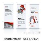 abstract business vector set of ...   Shutterstock .eps vector #561470164