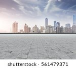 ground roads and the city... | Shutterstock . vector #561479371