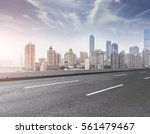 ground roads and the city...   Shutterstock . vector #561479467