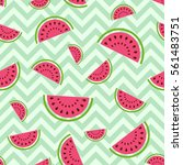seamless vector pattern with... | Shutterstock .eps vector #561483751