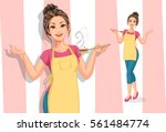 cook women | Shutterstock .eps vector #561484774