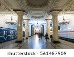 saint petersburg  russia. 19...   Shutterstock . vector #561487909
