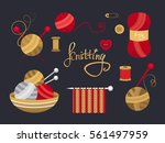 collection of elements for... | Shutterstock .eps vector #561497959