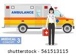 medical concept. detailed... | Shutterstock .eps vector #561513115