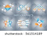 abstract infographics concept...   Shutterstock .eps vector #561514189