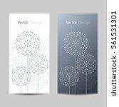 set of vertical banners.... | Shutterstock .eps vector #561531301