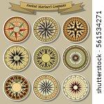 vector ancient mariner's... | Shutterstock .eps vector #561534271