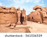 Temple Of Karnak  Ancient...