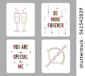 vector tags set  thin line... | Shutterstock .eps vector #561542839