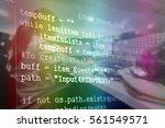 computer programming often...   Shutterstock . vector #561549571
