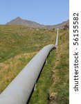 Water Pipeline In The Mountain...