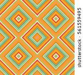 striped diagonal rectangle... | Shutterstock .eps vector #561559495