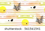 multicolor striped pattern with ... | Shutterstock .eps vector #561561541