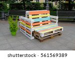 colorful furniture made of...   Shutterstock . vector #561569389