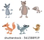 vector illustration of a six... | Shutterstock .eps vector #561588919