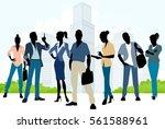 vector illustration of a... | Shutterstock .eps vector #561588961