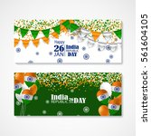 india republic day.... | Shutterstock .eps vector #561604105