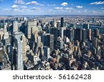 The New York City Panorama With ...