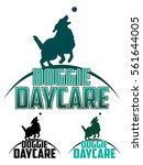 doggie daycare is an... | Shutterstock .eps vector #561644005