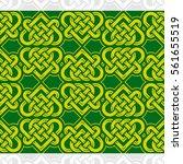 celtic heart shape vector... | Shutterstock .eps vector #561655519