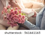 cropped image of beautiful... | Shutterstock . vector #561661165