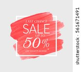 sale final up to 50  off sign... | Shutterstock .eps vector #561671491
