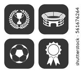 football icons vector set on... | Shutterstock .eps vector #561676264