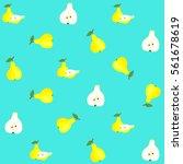 vector seamless pattern... | Shutterstock .eps vector #561678619