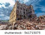 Demolished Building Surrounded...
