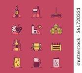 vector illustrations set of the ... | Shutterstock .eps vector #561720331