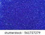 navy blue glitter background... | Shutterstock . vector #561727279