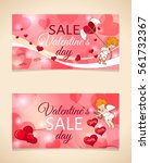 valentine's day collection sale ... | Shutterstock .eps vector #561732367