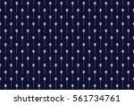 geometric ethnic pattern... | Shutterstock .eps vector #561734761