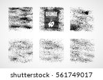 collection of grunge textures.... | Shutterstock .eps vector #561749017